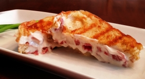 Creamed Chipped Beef Flat Iron Grill Sandwich