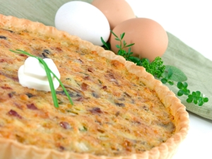 Quiche Lorriane A La Dried Beef